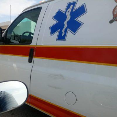 Taxista es acuchillado en asalto, en Chetumal