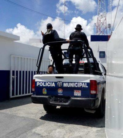 Detienen a banda de presuntos asaltantes en Cancún