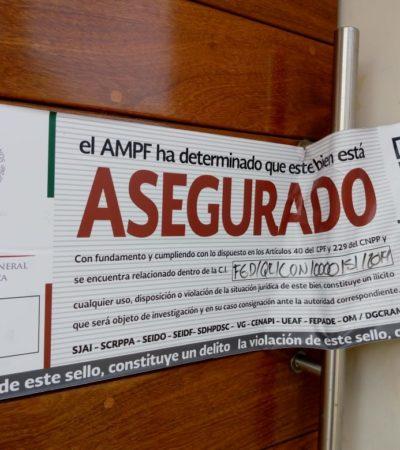 FUE UN SAQUEO CON ORDEN DE CATEO: Regresa Fiscalía General de la República propiedades a rumano radicado en Cancún, pero dice que le faltan 40 mdp en dinero y valores
