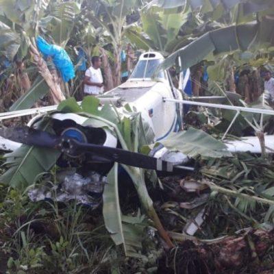 Cae avioneta y moviliza a militares en Chiapas; resultó ser fumigadora…