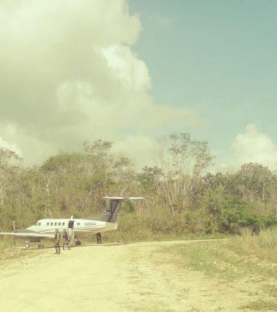 Ejército Mexicano asegura presunta 'narcoavioneta' sin cargamento en OPB