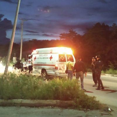 Hieren de bala a un hombre en la Región 252 de Cancún