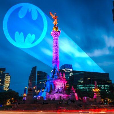 La 'batiseñal' iluminará esta noche el cielo de la CDMX por los 80 años del heroico personaje