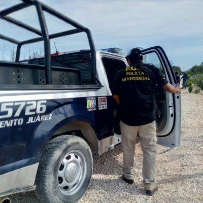 Hallan cuerpo de ejecutado en las afueras de Cancún