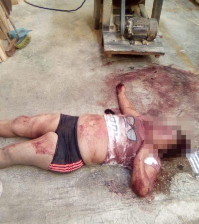 Mujer cae de un techo en la Región 92 de Cancún