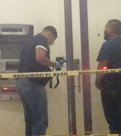 Saquean cajero automático en Cozumel