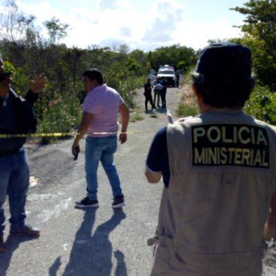 HALLAN CUERPO CALCINADO EN CANCÚN: Jóvenes que fueron a cortar palos para construir una palapa, encontraron el cadáver en la colonia La Amistad