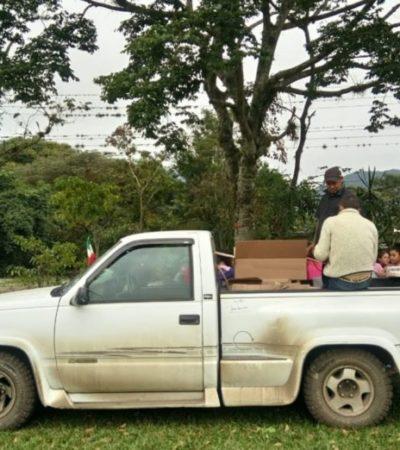 NO RESPETAN NI A 'LAS PATRONAS': Roban camioneta a mujeres que asisten a migrantes en Córdoba