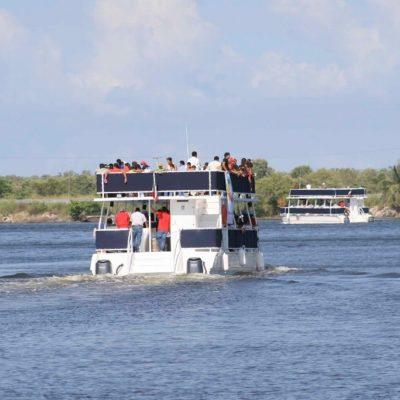 Detienen a dos presuntos 'piratas' que atracaron a pasajeros de un catamarán en Tabasco