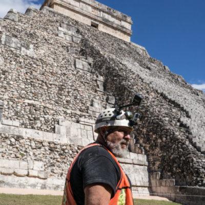 El arqueólogo Guillermo de Anda estrenará documental sobre Chichén Itzá en National Geographic