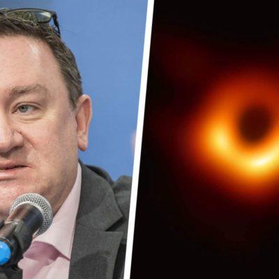 Gana investigador de la UNAM premio internacional por primera foto de un hoyo negro