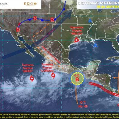 MONITOREO EN EL ATLÁNTICO: Se forman dos tormentas; 'Imelda' cerca de Houston, 'Jerry' se dirige a las Antillas