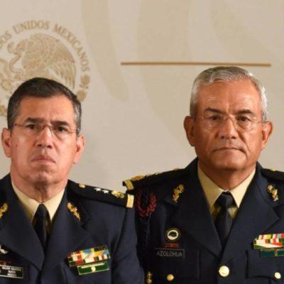 Pasan a retiro del Ejército comandantes de la Guardia Nacional