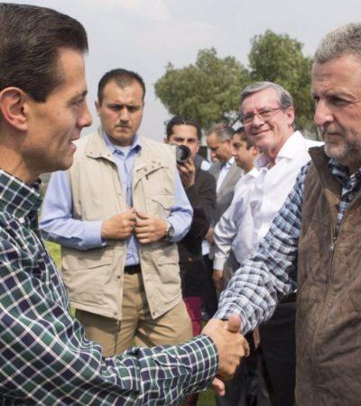Van tras Benito Neme, exdirector de CAPUFE, por irregularidades en su gestión; es compadre de Peña Nieto… y tabasqueño