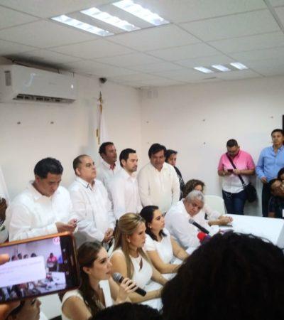 """""""JURAN CUMPLIR LA LEY PARA VIOLARLA A LOS CINCO MINUTOS"""": Niegan diputados opositores validez de instalación de la Legislatura en QR por 'atropello' de Morena"""