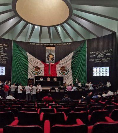 REVIENTAN SESIÓN DEL CONGRESO: Diputados, incluso cinco de Morena, dejan solo a Edgar Gasca y se agrava crisis de la nueva legislatura