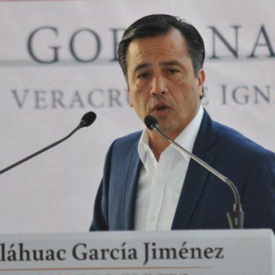Reta gobernador morenista de Veracruz a senadores del PAN que promueven juicio político en su contra