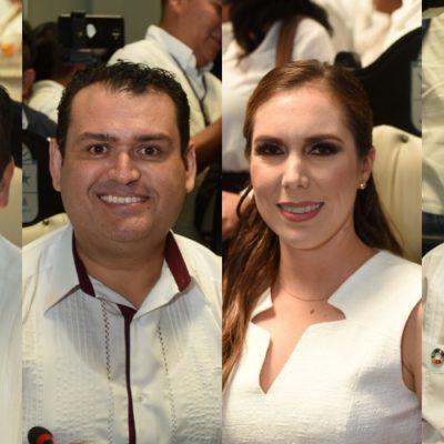 ROMPEN TRADICIÓN: Diputados de diversos partidos asistirán en representación del Poder Legislativo a los informes municipales