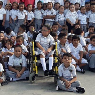 En promedio hay 37 alumnos con discapacidad en cada escuela de Cozumel