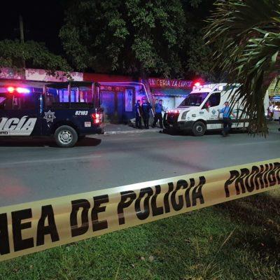 Asesinan a hombre en Playa del Carmen, frente a su hija de siete años