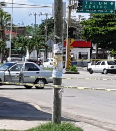 Ejecutan a balazos a un hombre afuera del Super Aki del Arco Vial en Playa del Carmen; suman 152 casos en 2019