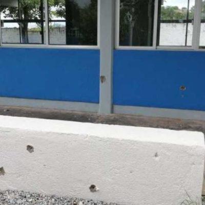 VIDEO | Causa pánico en escuela persecución de presuntos delincuentes en Chiapas