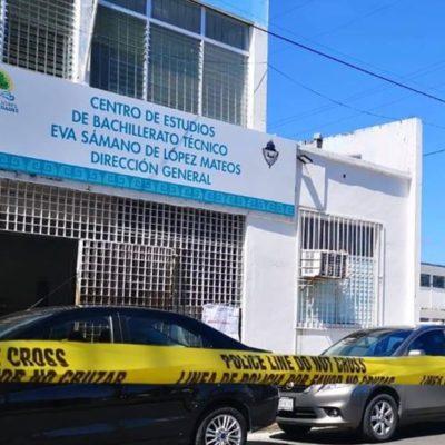 Director de escuela que recibió paquete explosivo pide reforzamiento de seguridad en todas las escuelas de QR