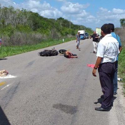 PERDIÓ LA VIDA DE MANERA INSTANTÁNEA: Fallece policía carrilloportense tras caer de su moto en la carretera