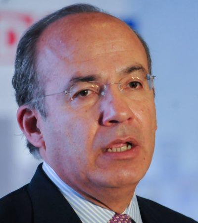 Anuncian conferencia de Felipe Calderón en el Tec de Monterrey y usuarios de redes lo rechazan