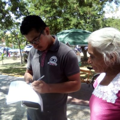 Cancunenses reúnen firmas contra CFE para pedir al Gobierno Federal poner fin a las altas tarifas