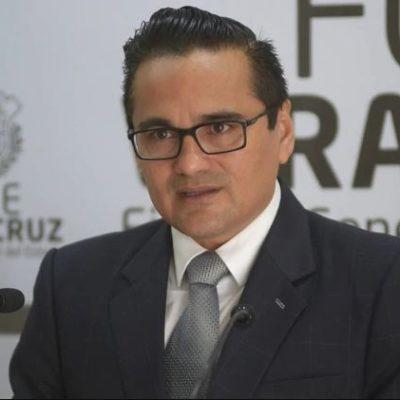 Acuerda Congreso de Veracruz separar temporalmente de su cargo a fiscal estatal