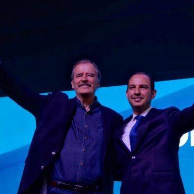 Celebra PAN 80 años con llamado a enfrentar al régimen de AMLO; su 'estrella' es… Vicente Fox