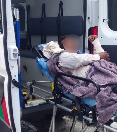 Hombre sufre múltiples fracturas al caer de un árbol en la comunidad de Caobas