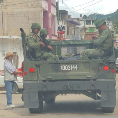 Capturan en Chiapas a presuntos responsables de enfrentamiento en el que murió agente de la GN