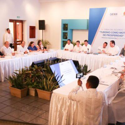 PACTAN GOBERNADORES PANISTAS IMPULSAR EL TURISMO: Ante la fallida política federal, acuerdan en Chetumal contrarrestar reducción presupuestal y subsanar deficiencias