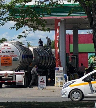 Aseguran pipa con 60 mil litros de gasolina presuntamente robada