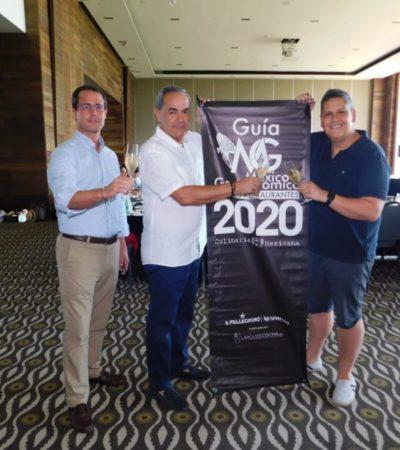Expertos se reúnen en Cancún para elegir a los 120 mejores restaurantes que integrarán la Guía México Gastronómico 2020