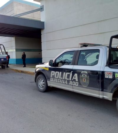 Herido de bala llega en taxi a hospital en Cancún