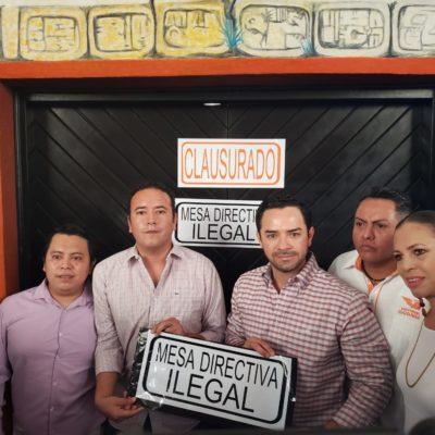ENTRA CONGRESO EN CRISIS DE LEGALIDAD: Clausura 'Chanito' Toledo acceso al Pleno por irregularidades en la instalación de legislatura; peligra informe del Gobernador, advierte