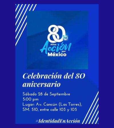 Acusa Eduardo Pacho organización de evento no oficial del PAN en Cancún