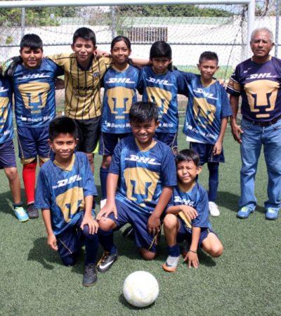 Se prepara Pumas de la Región 233 para su próximo torneo interregional de futbol 7