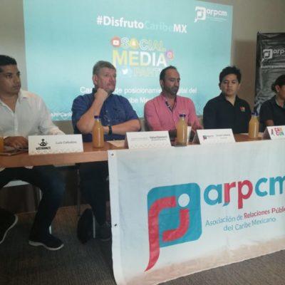 Campaña de redes sociales a favor del Caribe Mexicano llega a más de 48 millones de personas