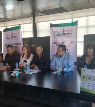 Buscan capacitar a las pequeñas empresas de QR en la Expo Congreso PYME 2019