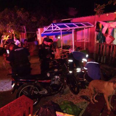 Sicarios dejan a hombre herido de bala en la colonia Ejidal de Playa del Carmen