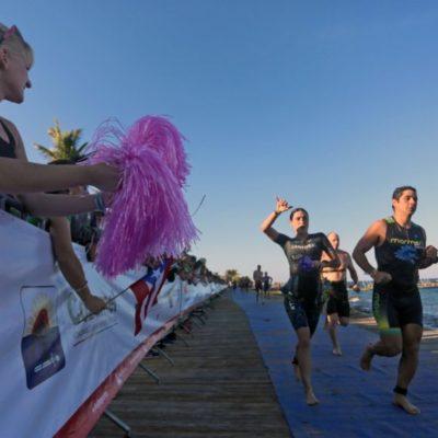 Todo listo para realizar el Ironman 70.3 en Cozumel