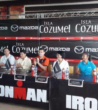 Participarán más de dos mil triatletas de 48 países en el Ironman 70.3 en Cozumel
