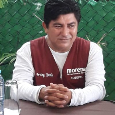 Morenista acude a Tribunal Electoral para reclamar regiduría en Cozumel