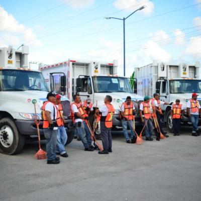 RECOLECCIÓN DE BASURA EN CANCÚN, A MEDIO GAS: Operaría 'Intelligencia México' con sólo 50 de los 70 camiones estipulados en el contrato