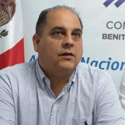 Confirma Juan Carlos Pallares que no buscará la reelección como dirigente estatal del PAN; Eduardo Pacho y Faustino Uicab son propuestas para ocupar el cargo