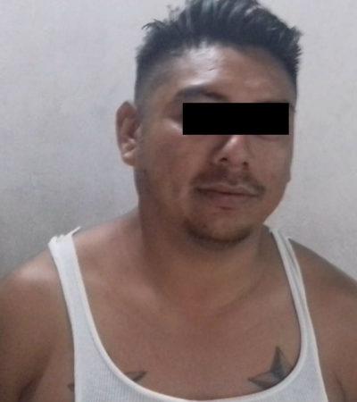 Detienen a sujeto por robo a un comercio en la Sm 248 de Cancún